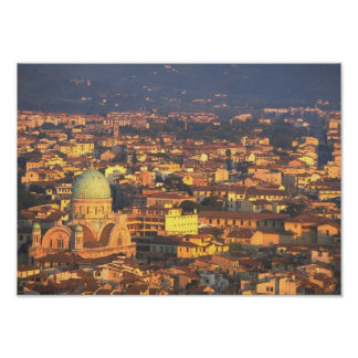 Horizonte Florencia Italia Póster