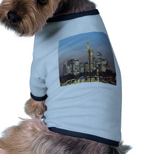 Horizonte Frankfurt-am-Main Alemania Camisetas De Perrito