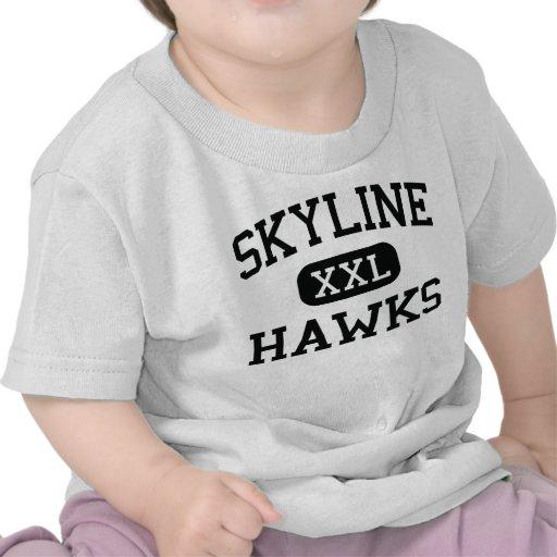 Horizonte - halcones - alto - Virginia real Camiseta