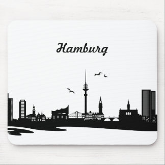 Horizonte Hamburgo Tapetes De Ratón