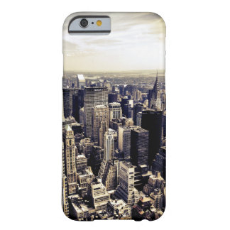 Horizonte infinito de New York City Funda De iPhone 6 Barely There