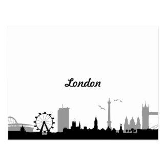 Horizonte Londres Tarjetas Postales