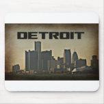 Horizonte Mousepad de Detroit Alfombrilla De Ratón
