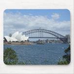 Horizonte Mousepad del puerto de Sydney Alfombrilla De Ratón
