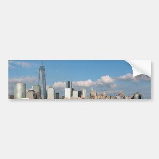 Horizonte New York City los E.E.U.U. de Manhattan Pegatina Para Auto
