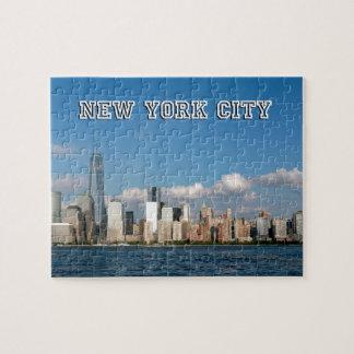 Horizonte New York City los E.E.U.U. de Manhattan Rompecabezas Con Fotos