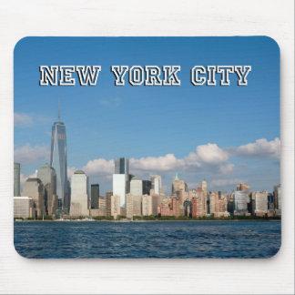 Horizonte New York City los E.E.U.U. de Manhattan Tapetes De Ratones