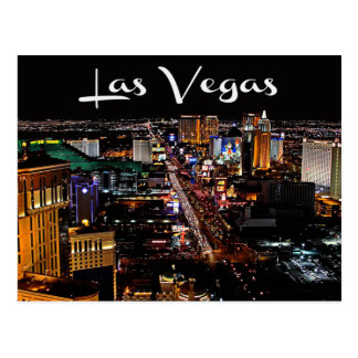 Horizonte postal del casino de Las Vegas Nevada