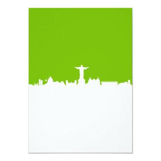 """Horizonte Río De Janeiro Invitación 5"""" X 7"""""""