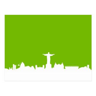 Horizonte Río De Janeiro Tarjeta Postal