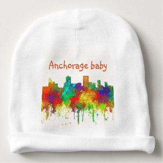 Horizonte-SG de Anchorage Alaska Gorrito Para Bebe