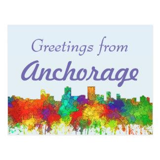 Horizonte-SG de Anchorage Alaska Postales