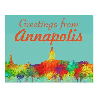 Horizonte-SG de Annapolis Maryland Tarjetas Postales