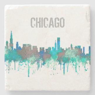 Horizonte-SG-Selva de Chicago Illinois Posavasos De Piedra