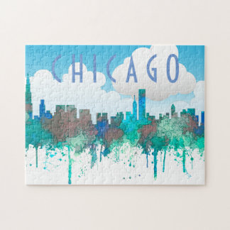 Horizonte-SG-Selva de Chicago Illinois Puzzle
