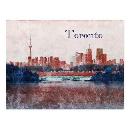 Horizonte soñador de Toronto Postal