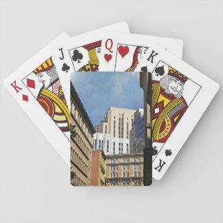 Horizonte temático cartas de póquer