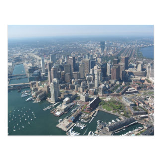 Horizonte total de Boston Postales