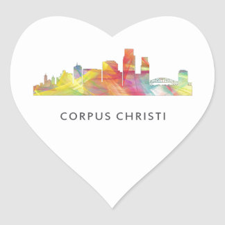 HORIZONTE WB1 DE CORPUS CHRISTI - PEGATINA EN FORMA DE CORAZÓN