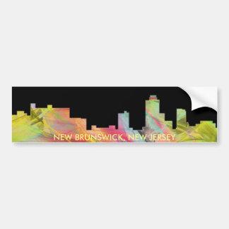 HORIZONTE WB1 DE NUEVO BRUNSWICK, NEW JERSEY - PEGATINA PARA AUTO