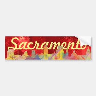 HORIZONTE WB1 DE SACRAMENTO, CALIFORNIA - PEGATINA PARA AUTO