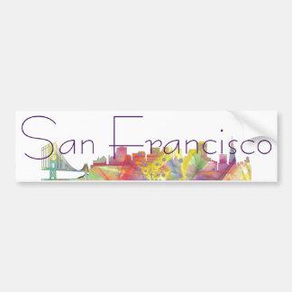 HORIZONTE WB1 DE SAN FRANCISCO - PEGATINA PARA AUTO