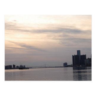 horizonte y carguero de Detroit Postal