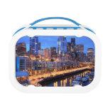 Horizonte y puerto, estado de Seattle de Washingto