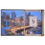 Horizonte y puerto, estado de Seattle de Washingto iPad Carcasas
