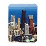 Horizonte y señales de Chicago Imanes Flexibles