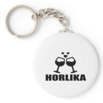 HORLIKA Wine Designs Keychain