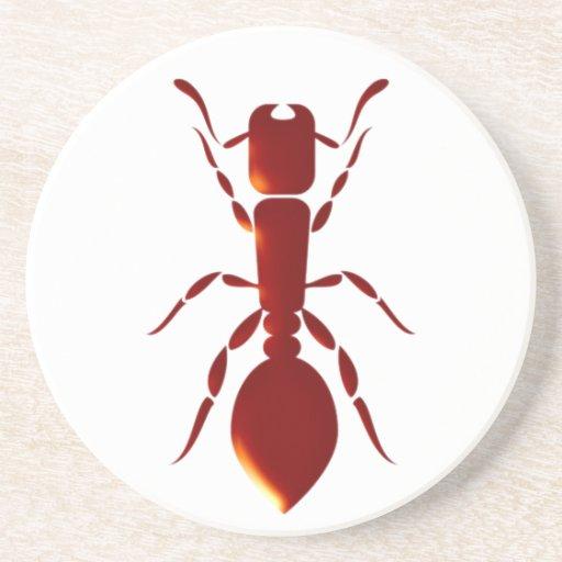 Hormiga ant posavasos para bebidas