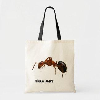 Hormiga de fuego bolsa tela barata