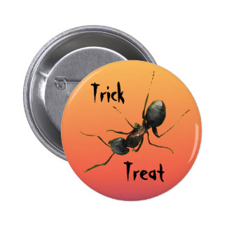 Hormiga de Halloween Pin Redondo 5 Cm