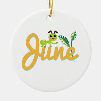 Hormiga de junio adornos