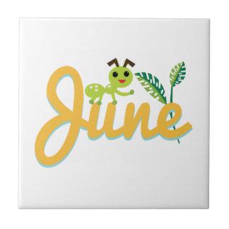 Hormiga de junio azulejo cerámica