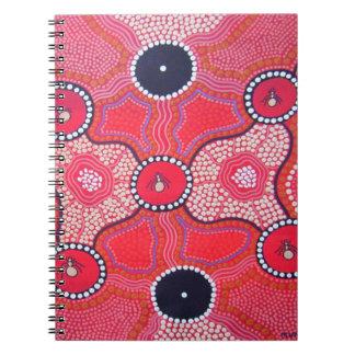 Hormiga de miel que soña el cuaderno aborigen de