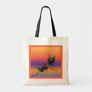 Hormiga en mi bolso bolsa tela barata