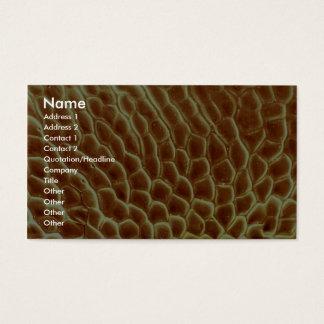 Hormiga - lado tarjetas de visita