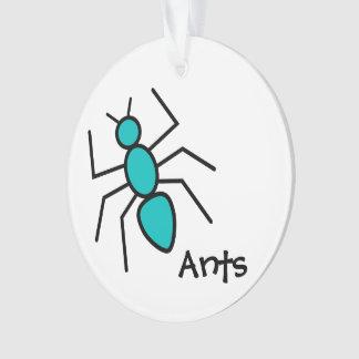 Hormiga linda del vector del trullo