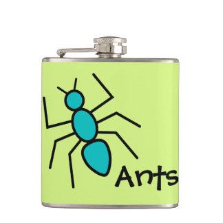 Hormiga linda del vector del trullo (fondo del ver