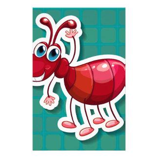 Hormiga roja  papeleria de diseño