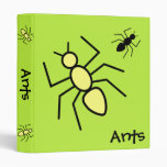 Hormigas amarillas y negras del vector - fondo del