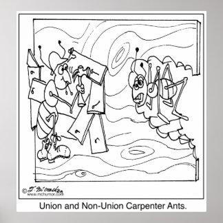 Hormigas de carpintero no sindicales impresiones