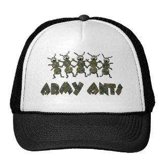 hormigas de ejército gorro