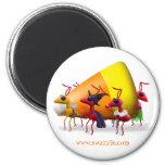 Hormigas de las pastillas de caramelo imán para frigorifico