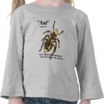 Hormigas y actitud - la camiseta #3 del niño