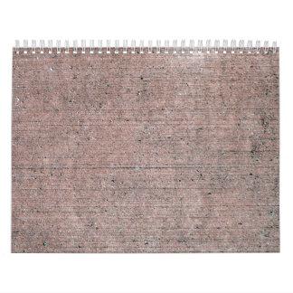 Hormigón texturizado 3 calendario