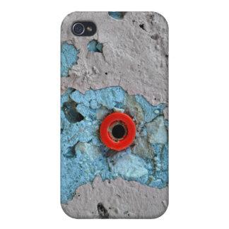 Hormigón y escupitajo iPhone 4 protector