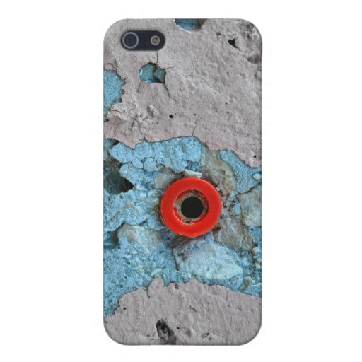 Hormigón y escupitajo iPhone 5 funda